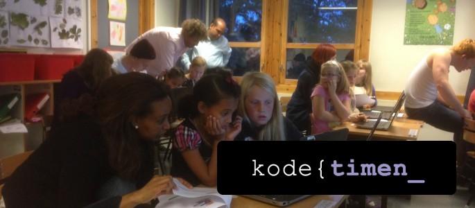 Påmelding til Kodetimen 2015 er åpnet!