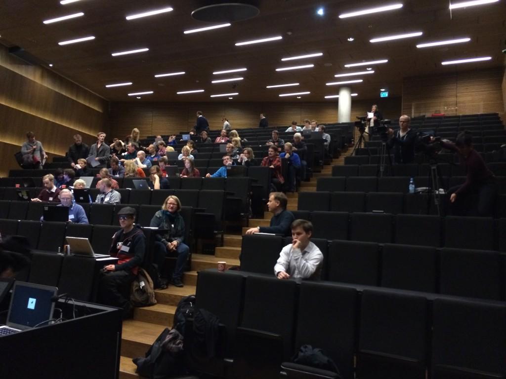 Oppstart: NRK Skole filmet de første foredragene