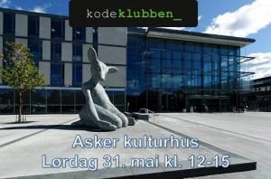 Kodeklubben i Asker kulturhus