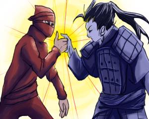 ninjavssamurai
