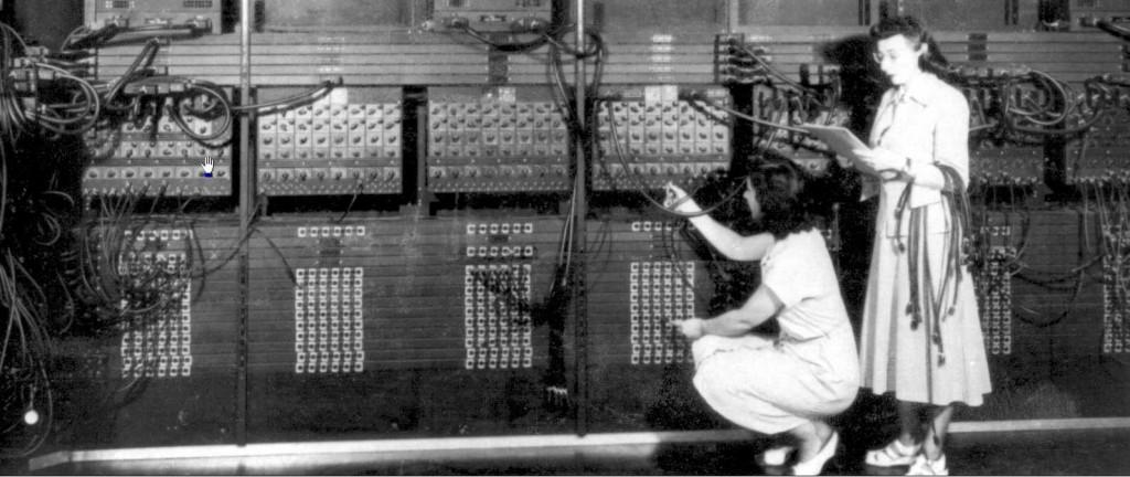 Noen av de første programmererne var damer