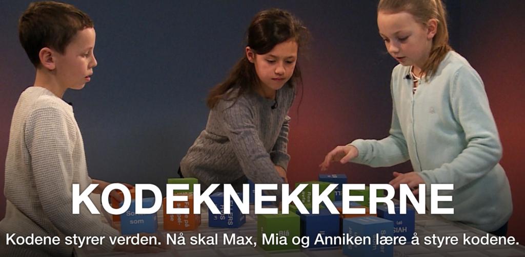 Kodeknekkerne tar barna med på en spennende serie oppgaver