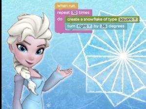 Kodetimen med Frozen i CodeStudio, for ungdomstrinnet og oppover