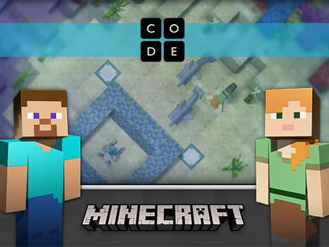 Minecraft-illustrasjon